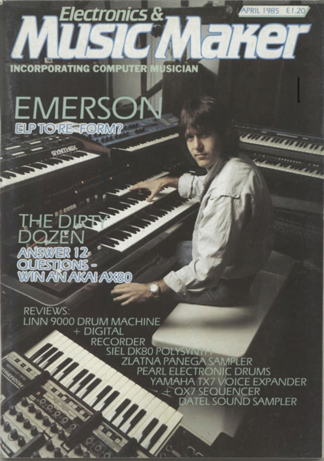 Keith Emerson for Electronics & Music Maker